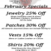 Leather Headquarters February 2020 Specials