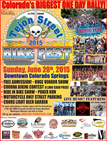15th annual Tejon Street Bike Fest