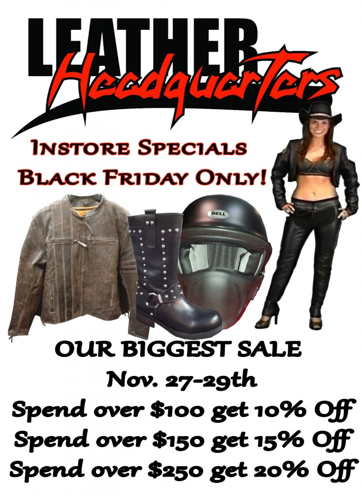 Black Friday Weekend Specials