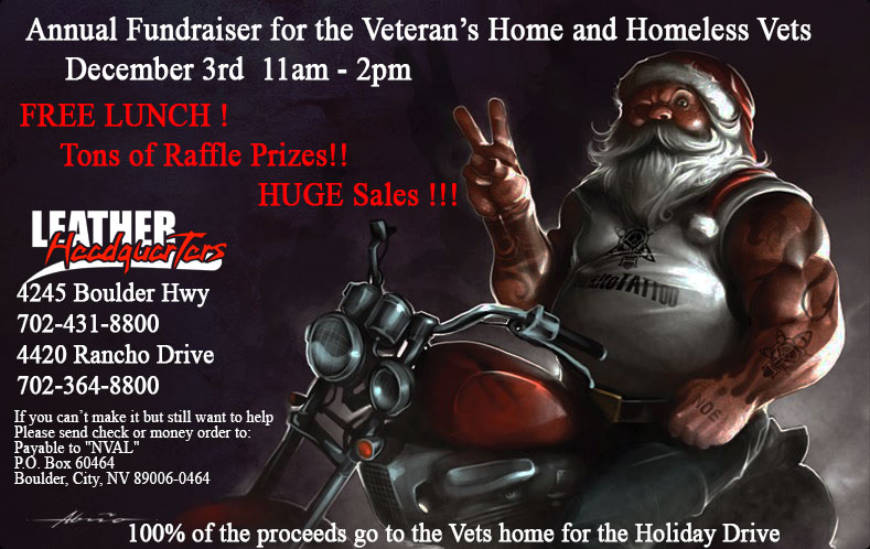 Vets Home for the Holidays Drive 2016