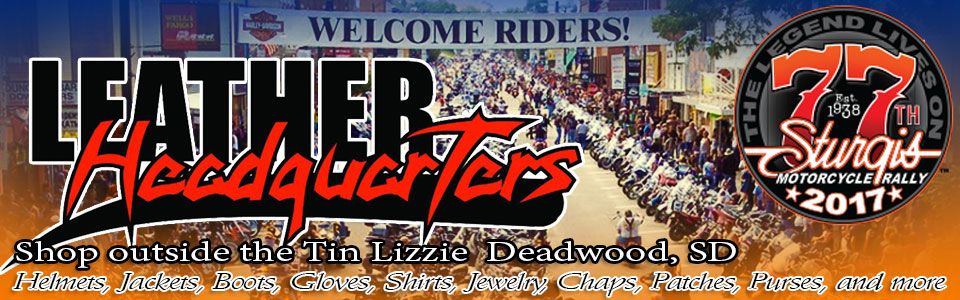 Leather Headquarters Sturgis 2017 promo