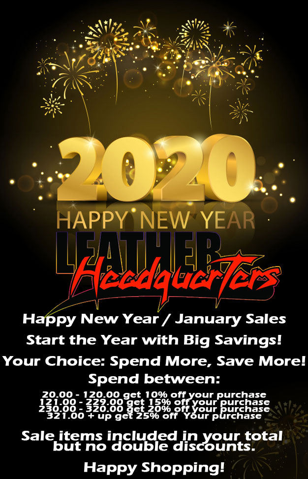 Happy New Year / January Sales